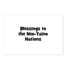Blessings to the Neo-Taino Na Postcards (Package o
