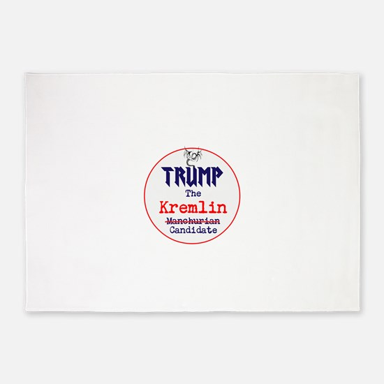 Trump the Kremlin candidate 5'x7'Area Rug