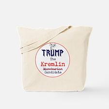 Trump the Kremlin candidate Tote Bag