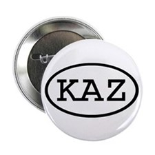 "KAZ Oval 2.25"" Button (100 pack)"