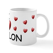 I Love Waylon - Mug