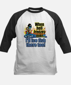 Hell Freezes Ice Fishing Tee