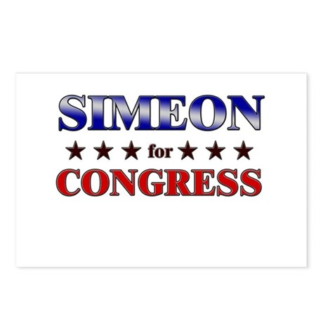 SIMEON for congress Postcards (Package of 8)
