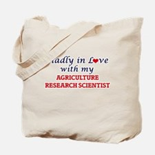 Madly in love with my Agriculture Researc Tote Bag