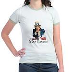 I want you... Jr. Ringer T-Shirt