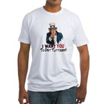 I want you... Fitted T-Shirt