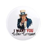 """I want you... 3.5"""" Button (100 pack)"""