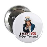 """I want you... 2.25"""" Button (100 pack)"""