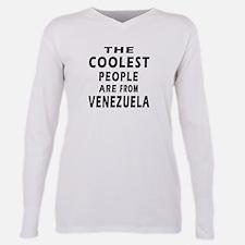 Cute Venezuelan Plus Size Long Sleeve Tee