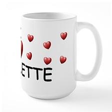 I Love Nicolette - Mug