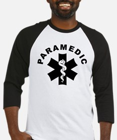 Paramedic Star Of Life Baseball Jersey
