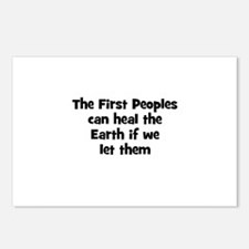 The First Peoples can heal th Postcards (Package o