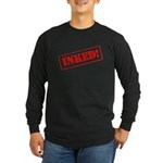 Inked Long Sleeve Dark T-Shirt