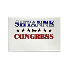 SHYANNE for congress Rectangle Magnet