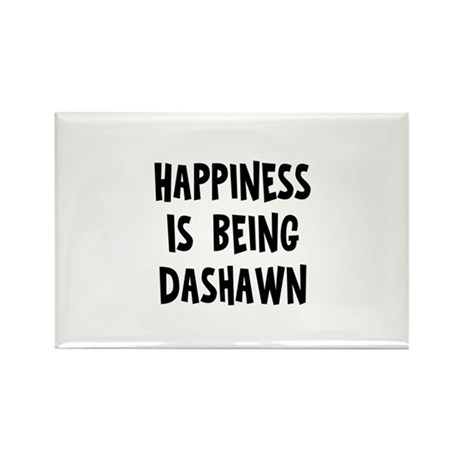 Happiness is being Dashawn Rectangle Magnet (10 pa