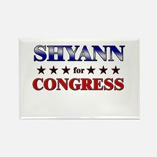 SHYANN for congress Rectangle Magnet
