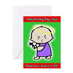 Classic Baby Jesus Greeting Card