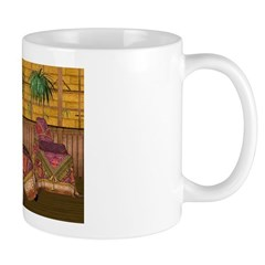 Jewels of India (Red) Mug