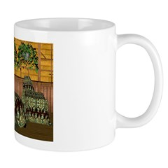 Jewels of India (Green) Mug