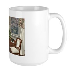 Teahouse For Two Large Mug