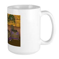 Jewels of India (Purple) Mug