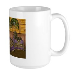 Jewels of India (Purple) Large Mug