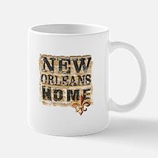 New Orleans Home Fleur De Lis Mugs