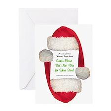 Santa Claus is a Pervert Greeting Card