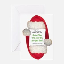 Santa Claus is a Pervert Greeting Card