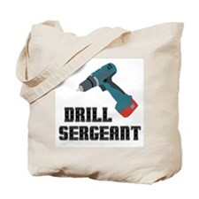 Drill Sergeant Tote Bag