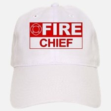 Fire Chief Baseball Baseball Cap