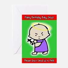 Classic Baby Jesus Greeting Cards (Pk of 20)