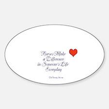 Unique Kathy Sticker (Oval)