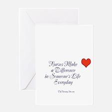 Cute Nursing profession Greeting Card