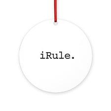 iRule. Ornament (Round)