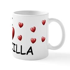 I Love Priscilla - Mug