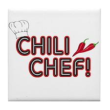 Chili Chef Tile Coaster