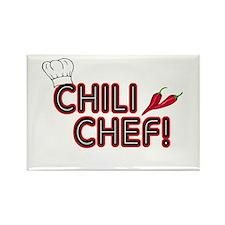 Chili Chef Rectangle Magnet