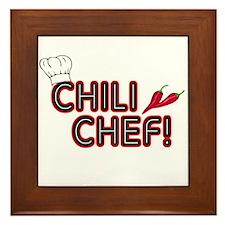 Chili Chef Framed Tile