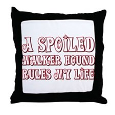 Spoiled Walker Throw Pillow