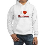 I Love Batam Hooded Sweatshirt