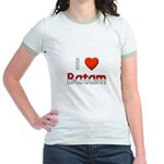 I Love Batam Jr. Ringer T-Shirt
