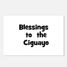Blessings  to  the  Ciguayo Postcards (Package of