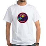 Blood Tribe Police White T-Shirt