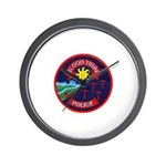Blood Tribe Police Wall Clock