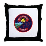 Blood Tribe Police Throw Pillow