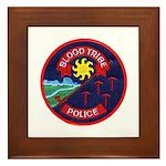 Blood Tribe Police Framed Tile