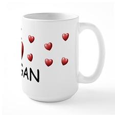 I Love Raegan - Mug