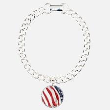 Unique Soldier Charm Bracelet, One Charm