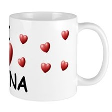 I Love Rayna - Small Mug